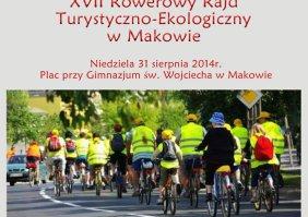 XVII Rowerowy Rajd Turystyczno-Ekologiczny w Makowie