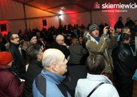 Spotkanie wigilijne z mieszkańcami Skierniewic