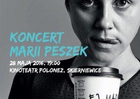 KONKURS!!! Wygraj zaproszenie na koncert Marii Peszek