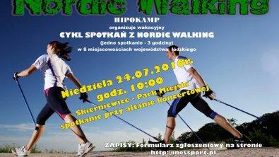 Ruszaj się dla zdrowia -nordic walking