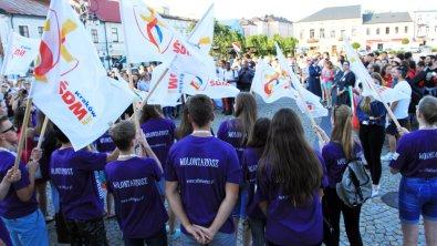 Młodzież z Francji i Włoch przyjechała do Skierniewic