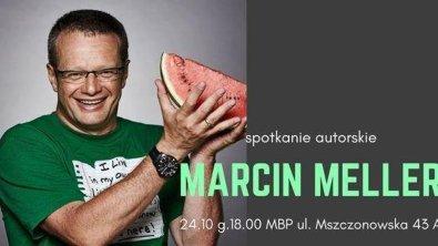 Spotkanie z Marcinem Mellerem w MBP w Skierniewicach