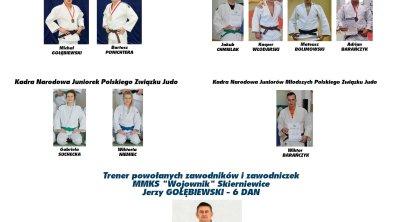 Zawodnicy Wojownika powołani do Kadry Narodowej Judo