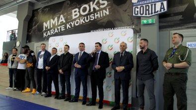 Oficjalne otwarcie nowej sali Klubu Academia Gorila Skierniewice