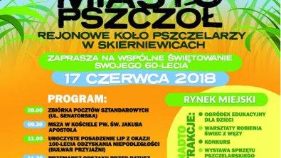 Rejonowe Koło Pszczelarzy zaprasza przed Ratusz