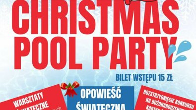 CHRISTMAS POOL PARTY