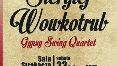 Klub jazzowy SWING: Siergiej Wowkotrub Gypsy Swing Quartet