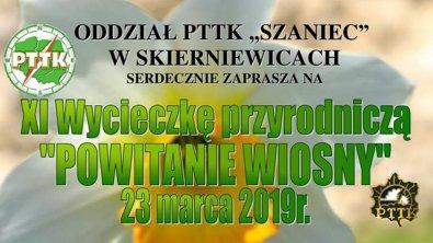 """XI Wycieczka Przyrodnicza """"Powitanie Wiosny 2019"""