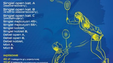 I Mistrzostwa Skierniewic w Badmintona