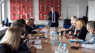 Skierniewickie służby dyskutowały o zagrożeniach związanych z koronawirusem