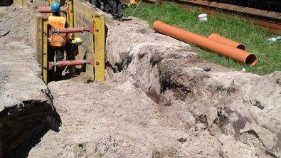 Osiedle Halinów zyskuje kanalizację sanitarną