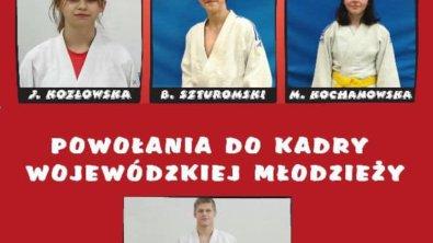 Powołania Wojowników do kadry wojewódzkiej judo