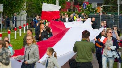 Uroczystości majowe w Skierniewicach