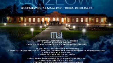 NOC MUZEÓW 2021 w Skierniewicach